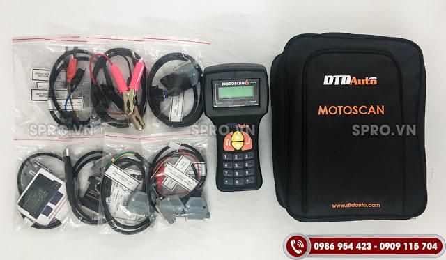 Nâng cấp thiết bị đọc lỗi xe máy Motoscan 6.2 có gì mới?