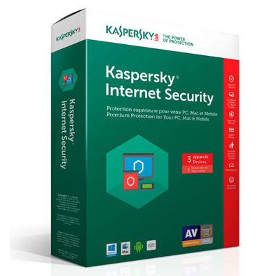 Kaspersky Internet Security 2019 3PC