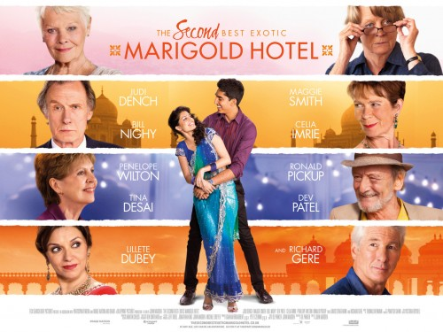 The Best Exotic Marigold Hotel - Khách sạn Hoa cúc vàng