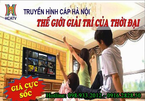 Chi phí lắp truyền hình cáp Hà Nội hiện nay
