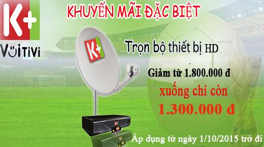 Xem K+HD với giá giảm chỉ còn 1.300.000 đồng/bộ