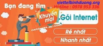 Cáp Quang Viettel Dĩ An  - Khuyến Mãi Lắp Đặt Internet - Wifi Năm 2019
