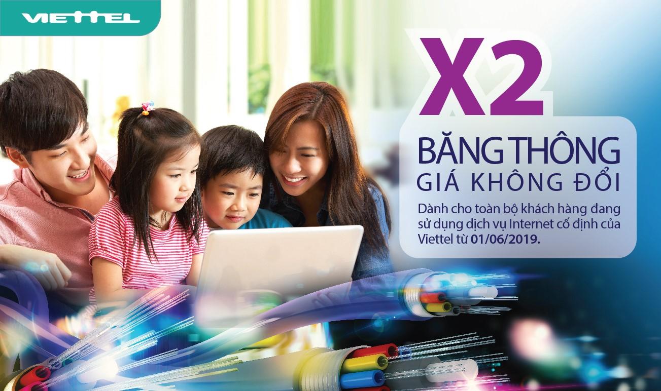Viettel Phú Giáo - Khuyến Mãi Internet wifi Cáp Quang năm 2019
