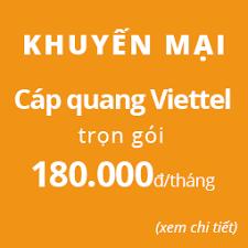 Lắp mạng viettel Thuận An  Khuyến Mãi Tháng 05/2018