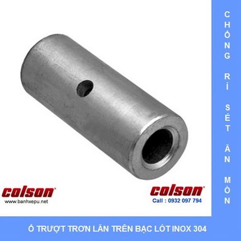 Bạc lót cho bánh xe đẩy hàng inox 304 Colson www.banhxepu.net