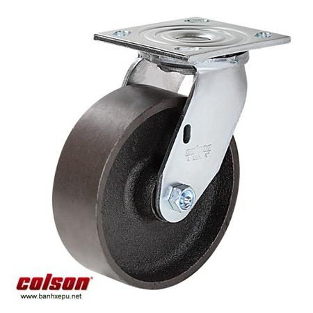 Bánh xe gang chịu tải trọng nặng Colson www.banhxedaycolson.com
