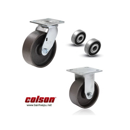 Bánh xe đẩy hàng chịu tải trọng nặng Colson www.banhxedaycolson.com