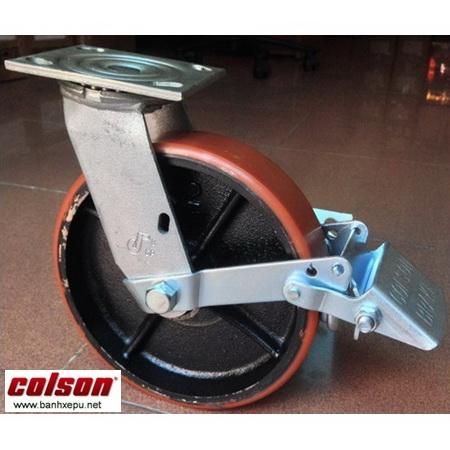 Bánh xe đẩy PU lõi gang chịu tải trong cao Colson www.banhxedaycolson.com