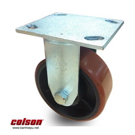 Bánh xe PU cố định bánh chết bánh xe mặt bích Colson www.banhxedaycolson.com