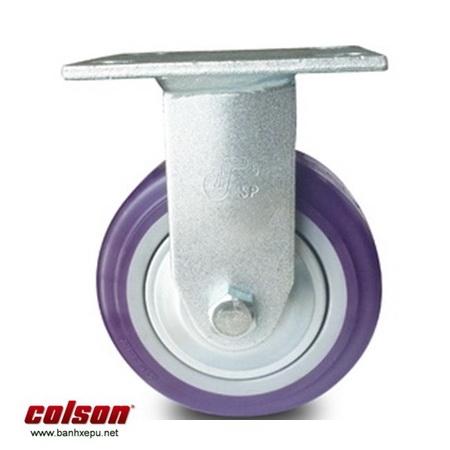 Bánh xe Pu lắp mặt bích Colson www.banhxedaycolson.com