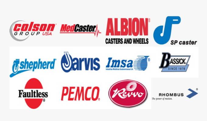 các thương hiệu của tập đoàn bánh xe đẩy Colson Mỹ banhxedaycolson.com