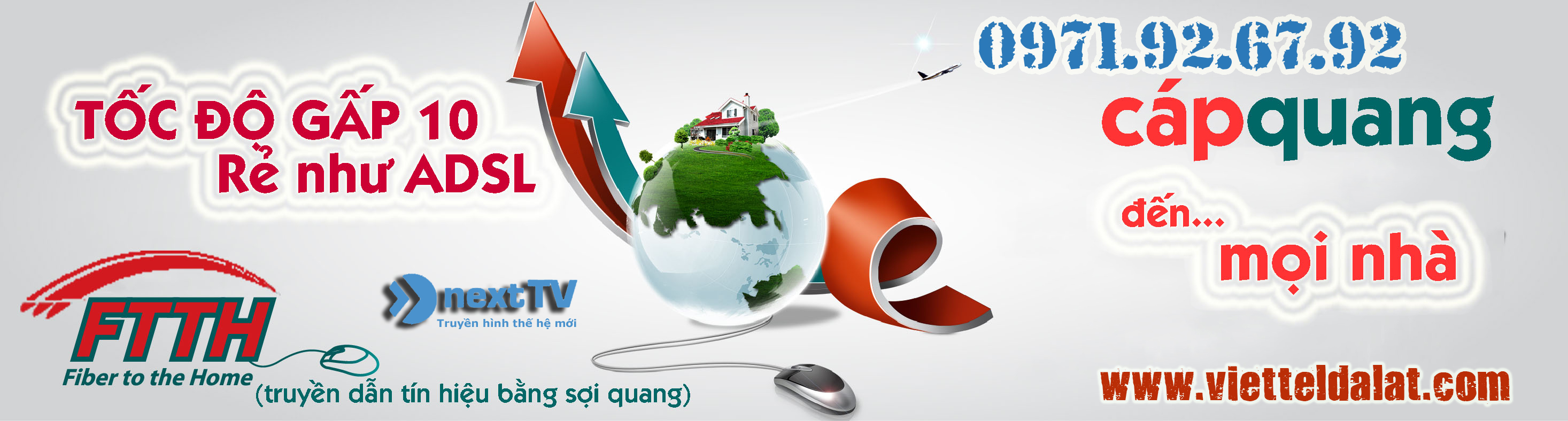 Cáp quang Viettel Đà Lạt - Lắp đặt internet viette Đà Lạt