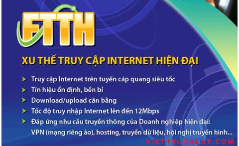 Cáp Quang Viettel Đà Lạt