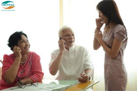 Điện thoại dành cho người già của Viettel