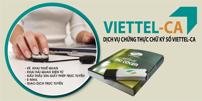 Thông báo về việc gia hạn Chữ ký số mới dịch vụ Viettel-CA