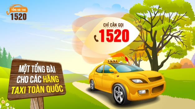 Gọi taxi - Chỉ cần bấm 1520