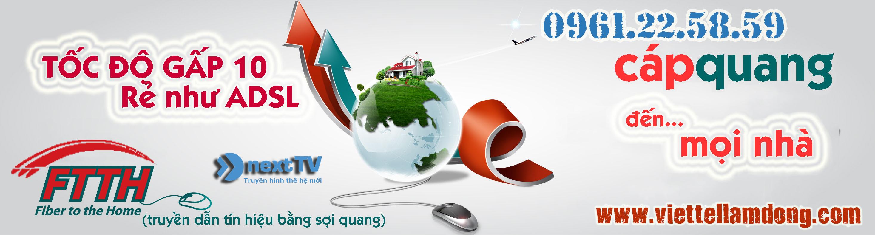 Viettel Lâm Đồng - Lắp mạng Viettel Lâm Đống