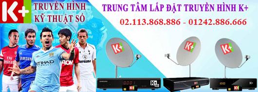 Lắp truyền hình K+ tại Huyện Mê Linh