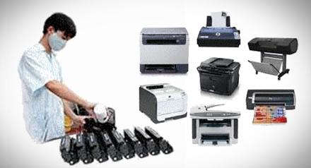 Máy in báo lỗi hoặc không nhận lệnh in và cách sửa chữa