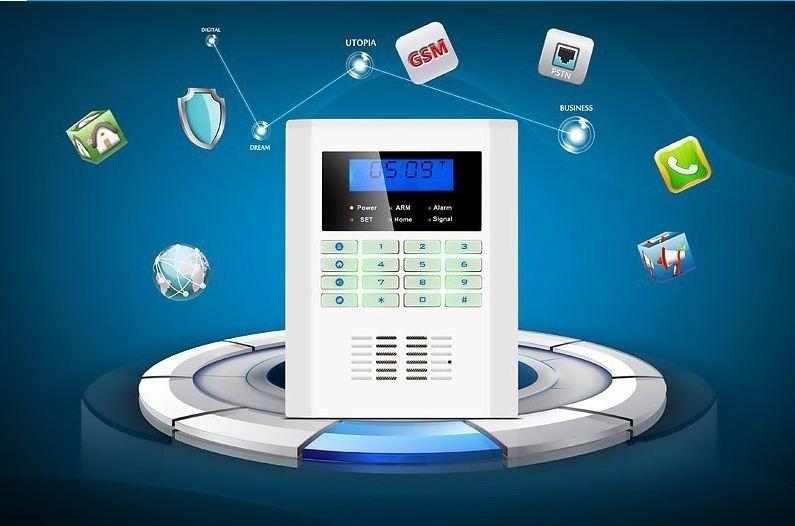 Bộ báo động chống trộm bằng SIM điện thoại GSM-VA77