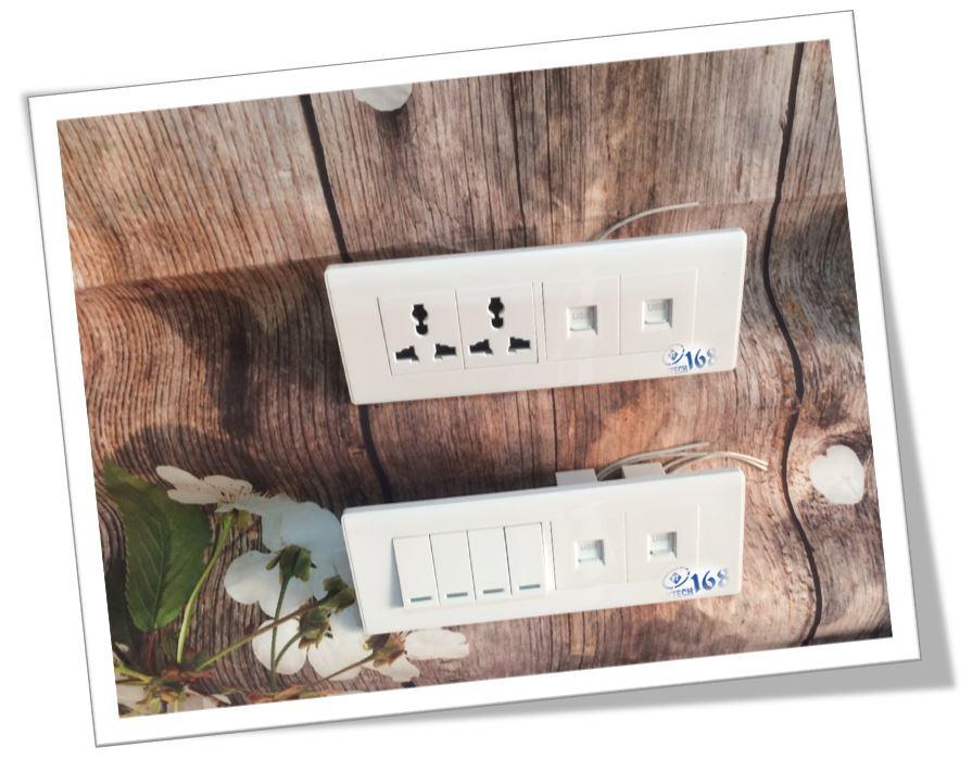 Ổ cắm đa năng có 2 cổng USB_F21-118