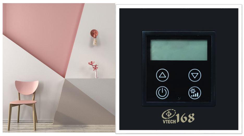 Điều chỉnh máy điều hòa nhiệt VTECH168_LTHS30