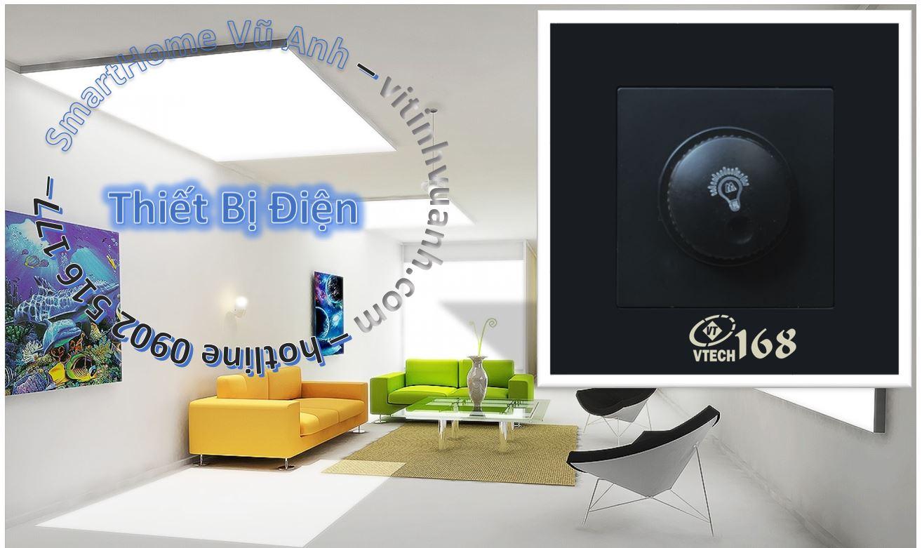 Công tắc Dimmer đèn ( chiết áp )_ VTECH168_LTHS32
