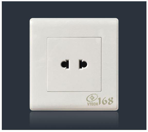 Ổ cắm điện 2 chấu đơn SC16_VTECH168