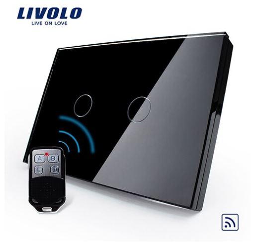 Livolo VL-C302R Công tắc cảm ứng điều khiển từ xa