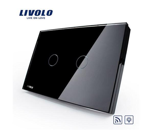 Livolo C302SR-81/82 Công tắc cảm ứng đk từ xa 2 chiều