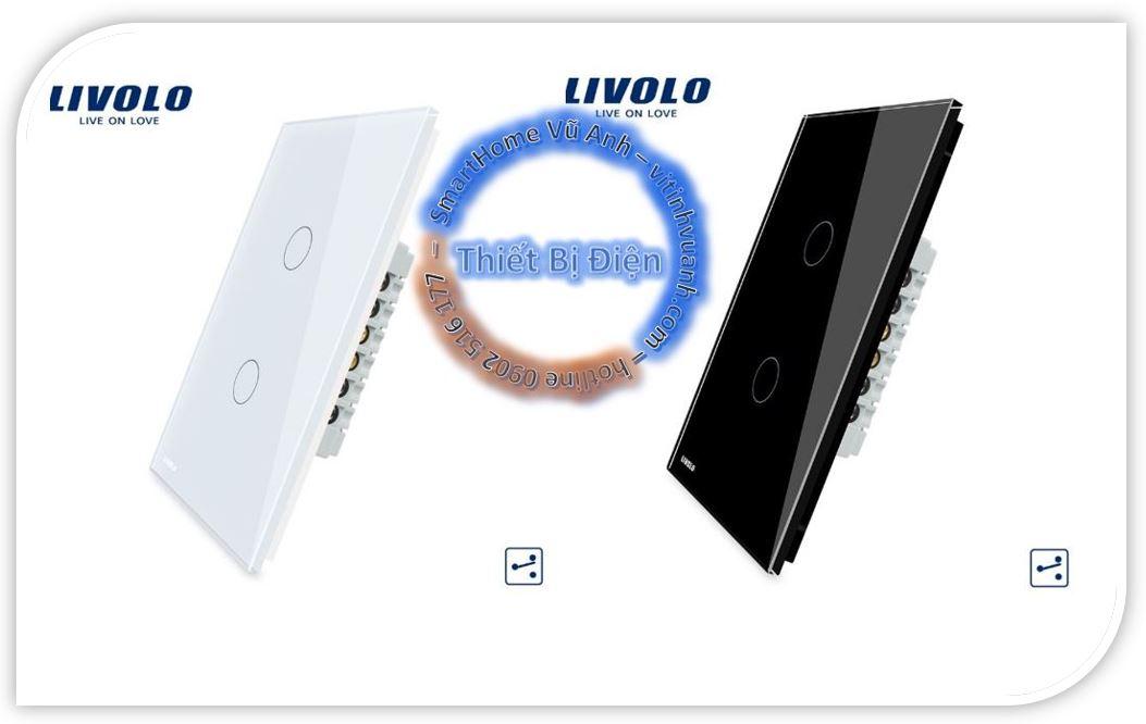 Công tắc cảm ứng Livolo VL-C502S ( 2 chiều )