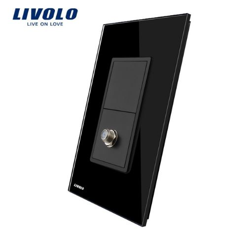 Ổ cắm TV Livolo VL-C391ST ( C5-1ST )