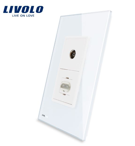 Ổ cắm TV in và HDMI in ( Livolo VL-C591VHD )