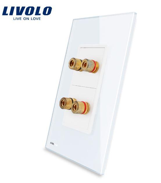 Ổ cắm Audio 4 cổng ( Livolo VL-C592A )