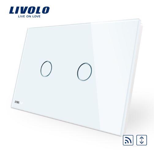 Công tắc cảm ứng Livolo - ĐK Rèm từ xa