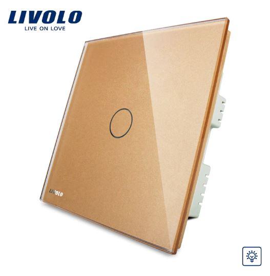 Công tắc cảm ứng SÁNG TỐI Livolo VL-C301D-61/62/63