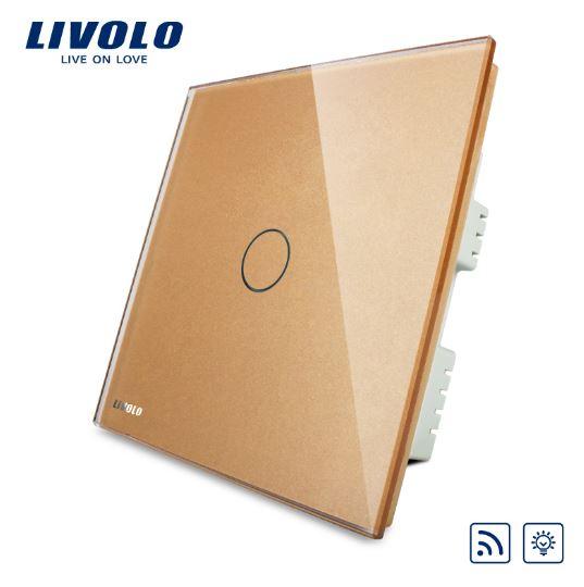 CÔNG TẮC CẢM ỨNG ĐIỀU KHIỂN TỪ XA ÁNH SÁNG TỐI LIVOLO VL-C301DR-61/62/63( 1 Chiều )