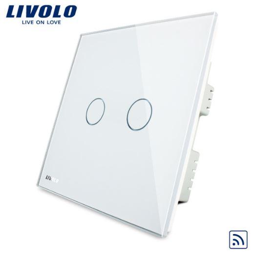 CÔNG TẮC CẢM ỨNG ĐIỀU KHIỂN TỪ XA LIVOLO VL-C302R-61/62/63( 1 chiều )