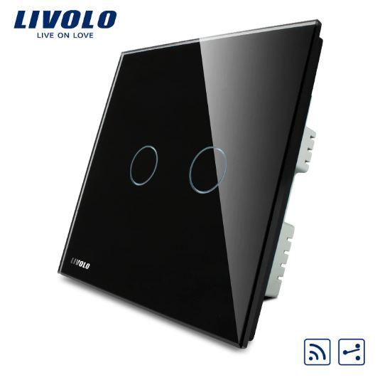 CÔNG TẮC CẢM ỨNG ĐIỀU KHIỂN TỪ XA LIVOLO VL-C302SR-61/62/63( 2 Chiều )