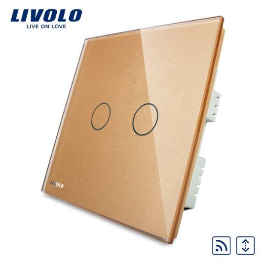 CÔNG TẮC CẢM ỨNG ĐIỀU KHIỂN TỪ XA RÈM CỬA LIVOLO VL-C302WR-61/62/63