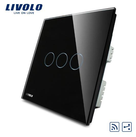 CÔNG TẮC CẢM ỨNG ĐIỀU KHIỂN TỪ XA LIVOLO VL-C303SR-61/62/63( 2 CHIỀU )