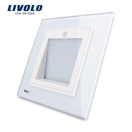 Công tắc cảm biến cầu thang, mái hiên, hành lang mặt kính Livolo VL-W291JD