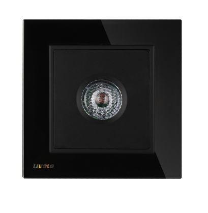 Công tắc cảm biến đèn từ âm thanh mặt kính Livolo VL-W291SG