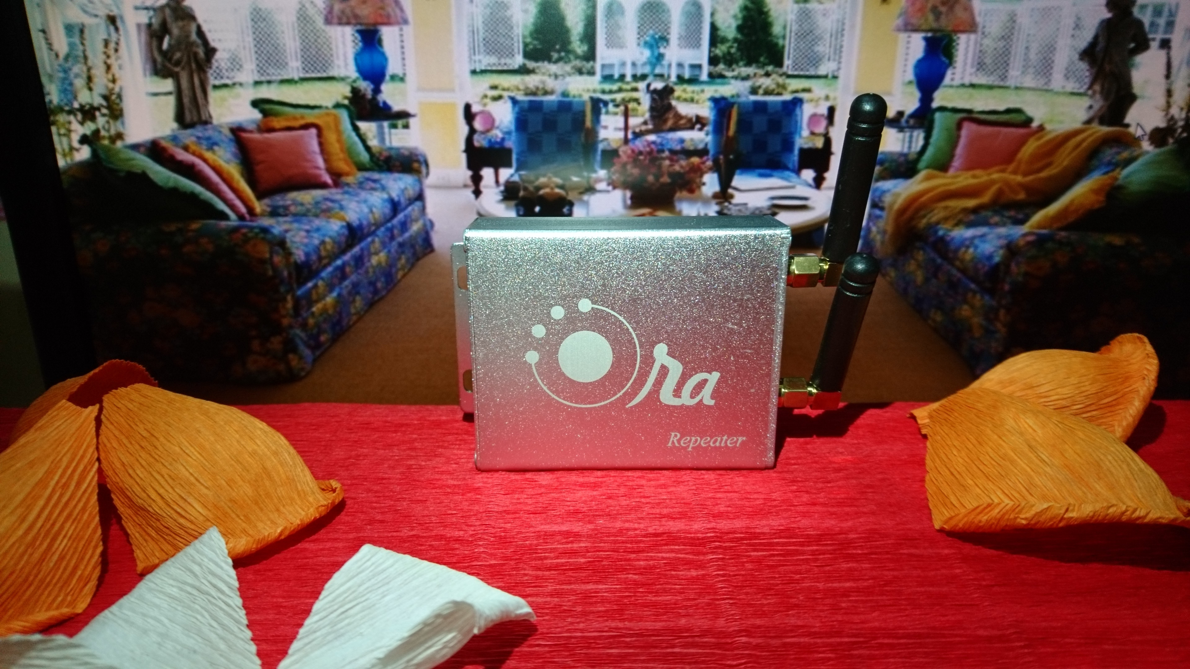 Repeater Ora - Mở rộng phát sóng trung tâm