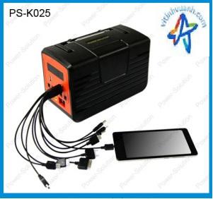Bộ Combo Đèn Led Quạt 10W năng lượng mặt trời ( PS-K025 )