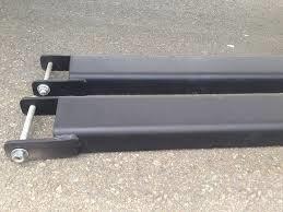 Nối càng giả xe nâng bằng thép 0,8 cm