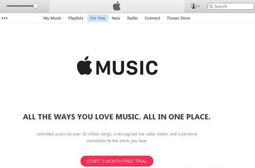 Thưởng thức Apple Music ngay trên máy tính Windows