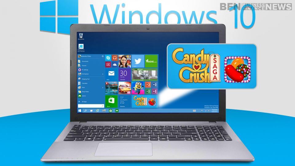 Candy Crush Saga sẽ là game tích hợp với Windows 10