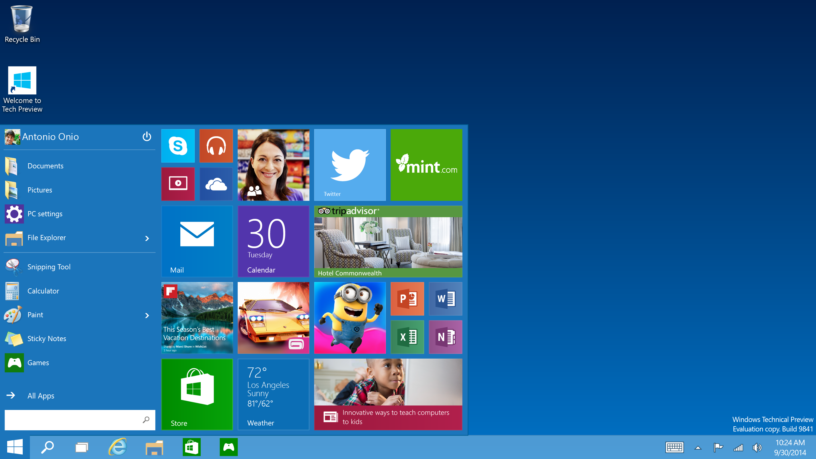 Cài đặt Windows 10 bản chính thức ngay hôm nay