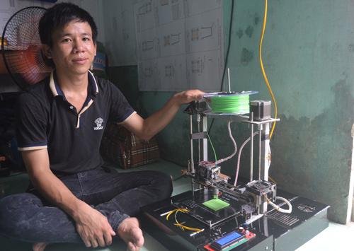 Chế tạo thành công máy in 3D giá rẻ bởi 3 chàng sinh viên Việt Nam